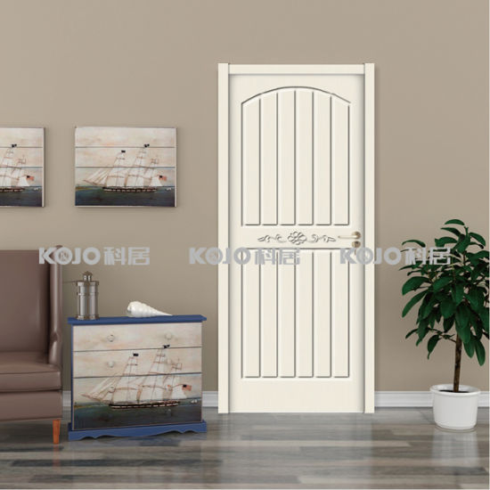China New Material Waterproof Wpc Painting Interior Door For Coastal