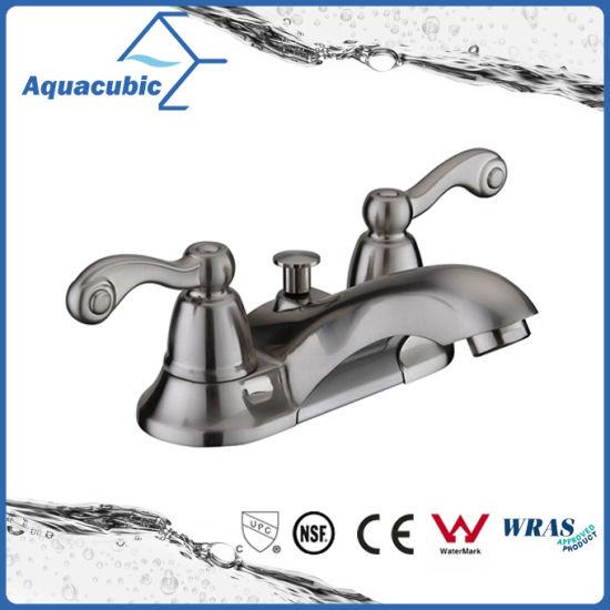 Brass Bathroom Wash Basin Faucet (AF3017-6C)