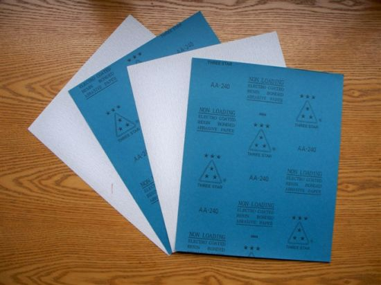 """Three Star"" Non-Loading Abrasive Paper pictures & photos"