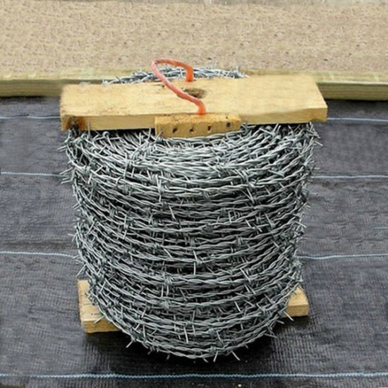 Galvanized Barbed Wire Fence Manufacturer (EBW-15) pictures & photos
