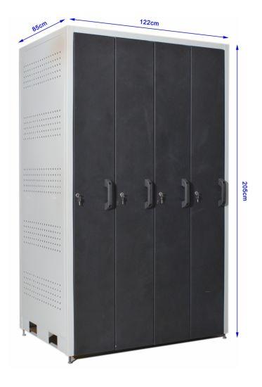 Four-Piece Tool Cabinet (GJ-4A)