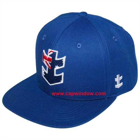 c83a91dc9a2 China 2016 Hot Sale Custome Blue Snapback Hat - China Snapback Hat ...