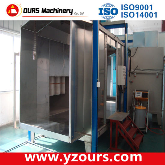 Turn-Key Fast Color Change Powder Coating System pictures & photos