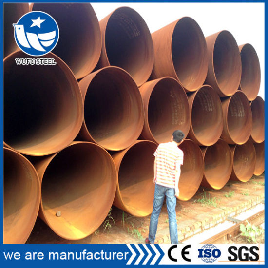SSAW Steel Pipe for Oil and Gas Fluid Transportation pictures & photos