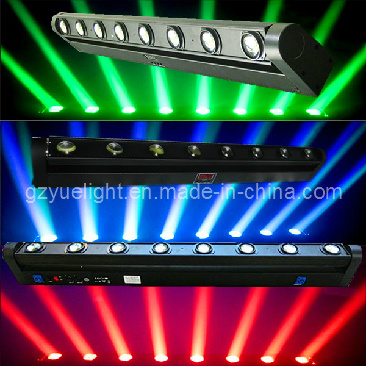 LED Full Coloroledone Light Bar 10W 8PCS CREE Beam Moving Head Light pictures & photos
