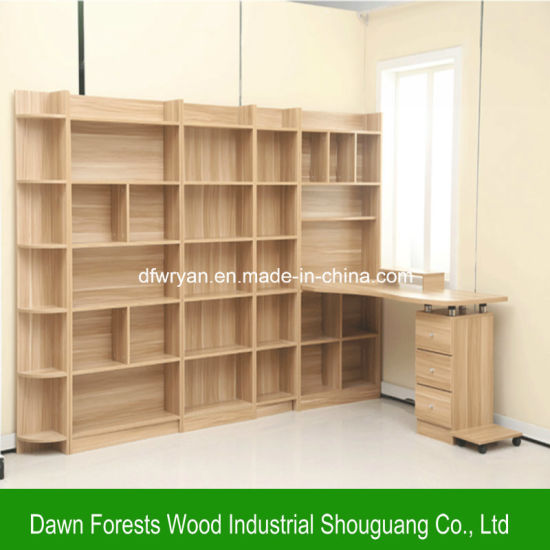 Living Room Furniture Melamine Particle Board Bookcase pictures & photos