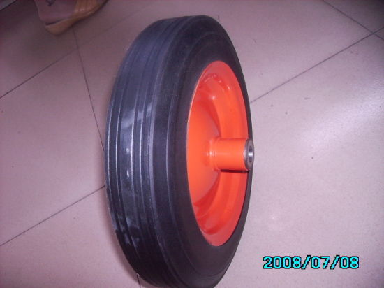 Rubber Powder Wheel/Powder Solid Wheel pictures & photos