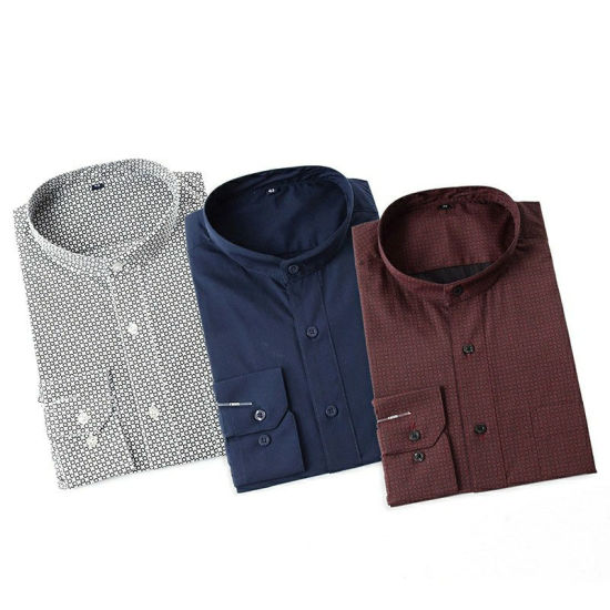 Factory Price Tc 45s Pigment Printed Woven Fabric for Men Shirts