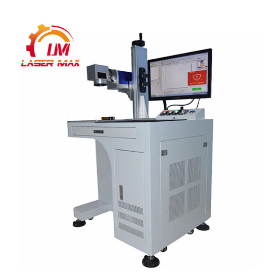 Chinese Wholesale Cabinet 20W 30W 50W Metal Fiber Laser Marking Engraving Machine Raycus Ipg Max 110mm*110mm 150mm*150mm 200mm*200mm