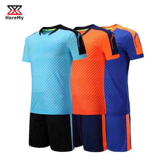 [Hot Item] China Factory Cheap Soccer Uniform Set Custom Football Jersey