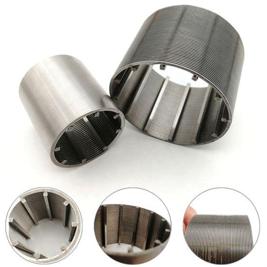 Stainless Steel Round Wedge Wire Johnson Screen