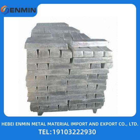 Chinese Factory Sells Zinc Alloy Ingot 99.995% Zinc Alloy Ingot at Wholesale Price