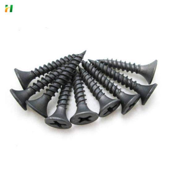 Wholesale Drywall Screw Iron Nail Wire Black Screw Nail Factory Screw Nail