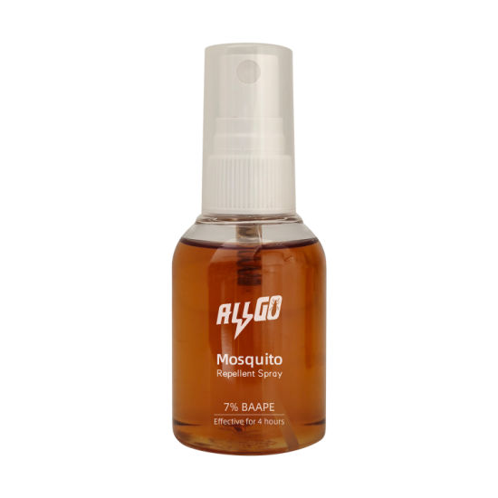 Allgo 60ml Mosquito Repellent Spray with 7% Baape Safer Than Deet Pesticide