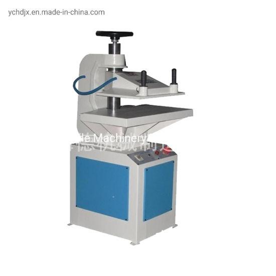 Rubber Slipper Sole Hydraulic Swing Arm Cutting Machine Price of Shoe Making Machine