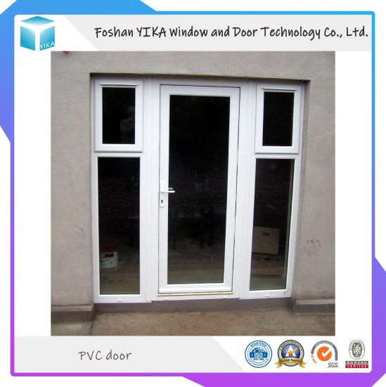 Foshan Factory Direct UPVC/ PVC Casement Window and Door with Single Glass