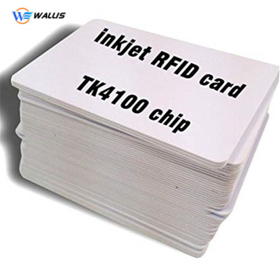 125kHz Em RFID Proximity Induction Thin Card Em4100 Smart Cards 0.8mm Recycled PVC Card for Access