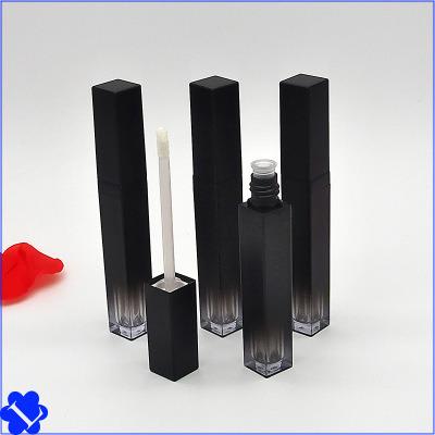 Spot Square Black Gradient Lip Gloss Tube Empty Tube DIY Lip Glaze Empty Tube Lip Gloss Empty Bottle Lip Glaze Split Bottle