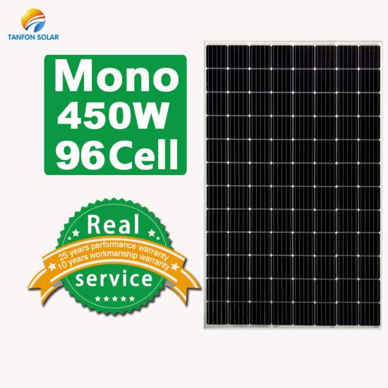Shine Wholesale 450W Mono Solar Panel/PV Module