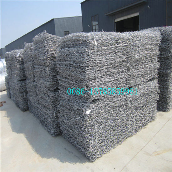 Heavy Duty Hexagonal Gabions/Zinc Coated Gabion Boxes/Reno Mattress for Protect River Bank pictures & photos