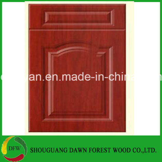 China American Style Modern Pvc Kitchen Cabinet Door Customized