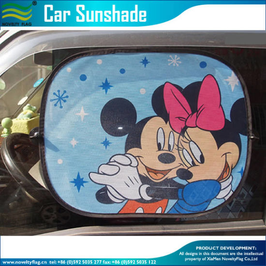 2016 Cartoon Pattern Car Sunshade Cling Sunshade (NF29F14016) pictures & photos