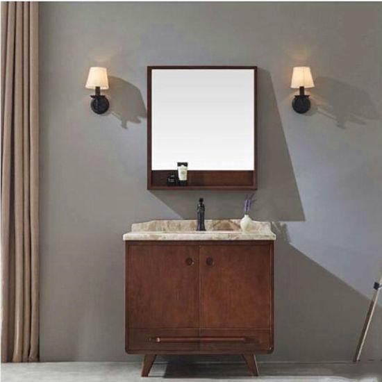 Cl Solid Wood Bathroom Cabinet Wash