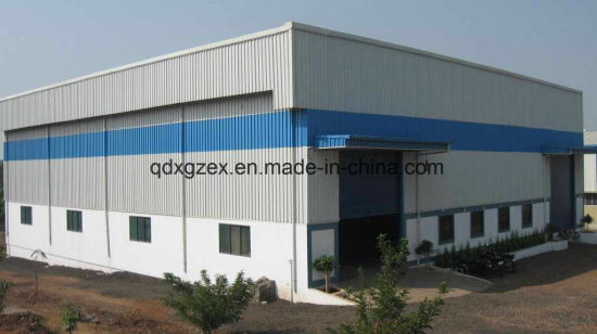 Manufacturing Unit, Beam Crane Equipped Turnkey Steel Structure Workshop
