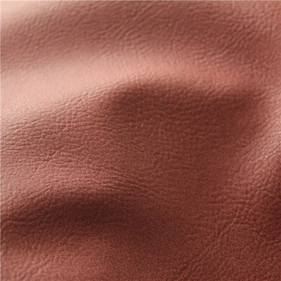 Anti-Abrasion Artificial Synthetic Leather for Furniture, Sofa (807#) pictures & photos