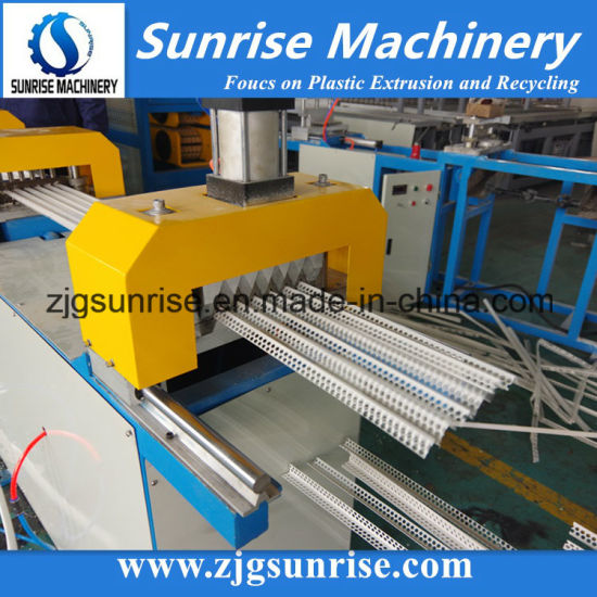 Plastic Profile PVC Corner Bead Profile Extrusion Machine Production Line pictures & photos