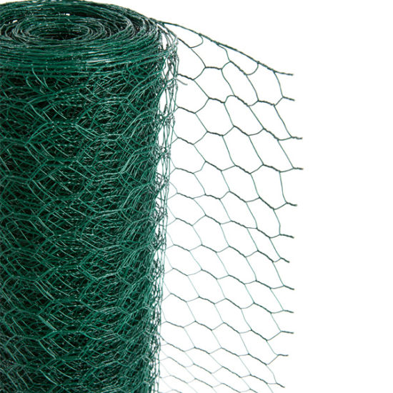 China Supply Green PVC Coated Chicken Wire Fence - China Chicken ...