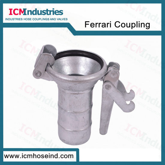 Industrial Farrarie Coupling Male with Ring