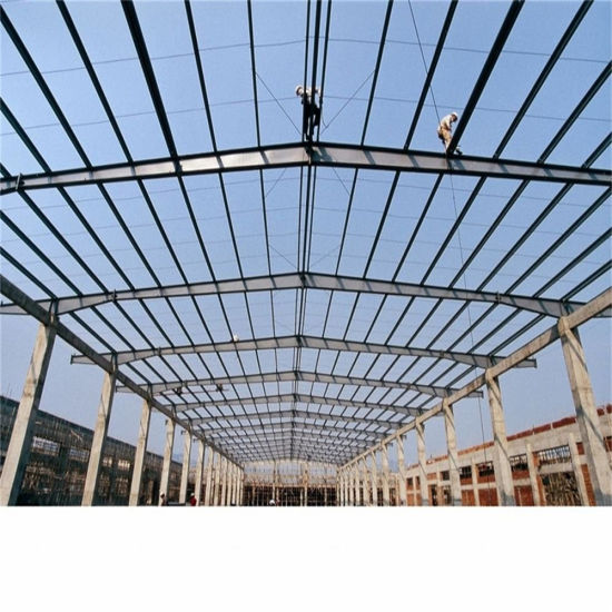 Prefab Steel Structure Workshop for Africa pictures & photos
