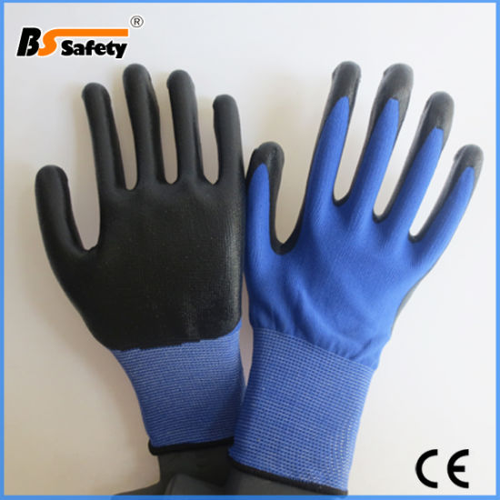 Good Quality Nitrile Coated Glove Working Safety Gloves for EU