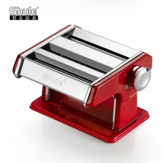 Small Family Use Hand Pasta Machine for Making Fresh Pasta