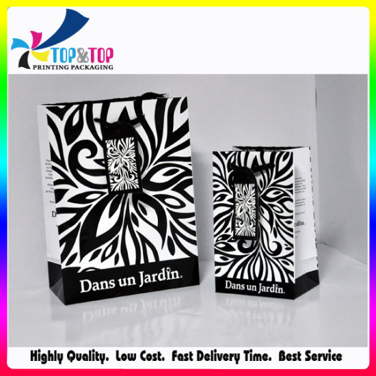 Shenzhen Factory Low Cost Paper Foldable Fancy Gift Bag pictures & photos