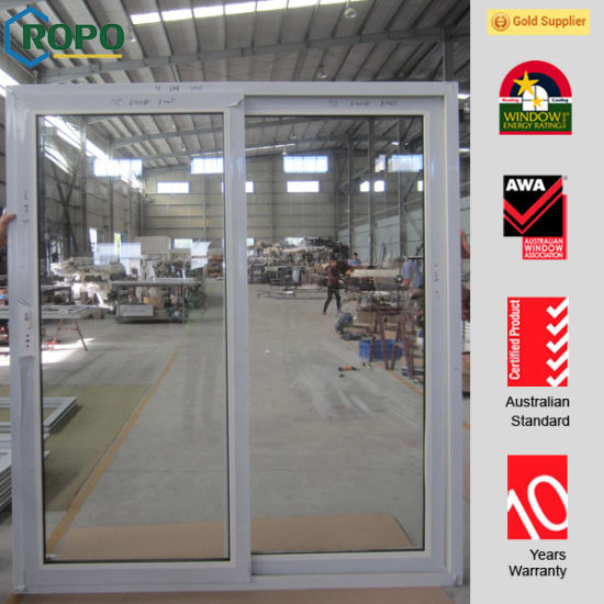 China Plastic Frame For Slide Glass Doors For Patio China Plastic