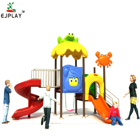 Factory Made Kids Commercial Outdoor Playground Slides
