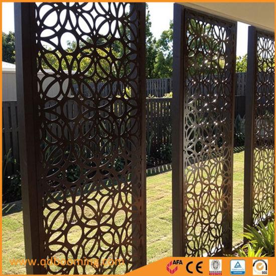 Customized Garden Steel Screen With Powder Coating