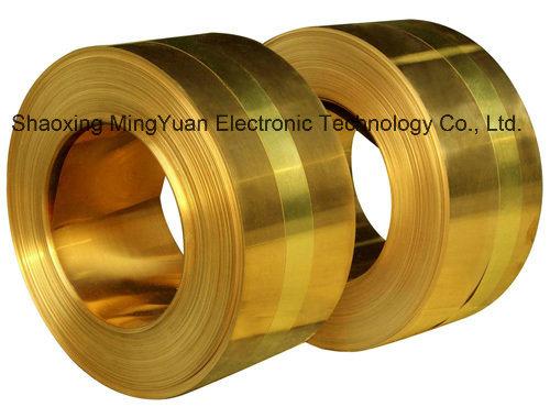 Factory Price C27400/H62 C27200/H63 C26800/H65 C26000/H70 Level Brass Foil/Strip for Telecommunications/Electronics