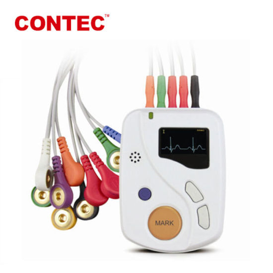 Contec Tlc6000 12 Channel Holter ECG Monitor Holter Equipment