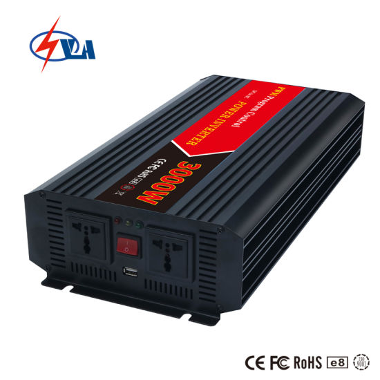 3000W Power Inverter with Solar Charger (battery charger)