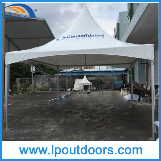 Outdoor High Peak Aluminum Frame White PVC Marquee Spring Top Tent for Event pictures u0026 photos & China Outdoor High Peak Aluminum Frame White PVC Marquee Spring Top ...