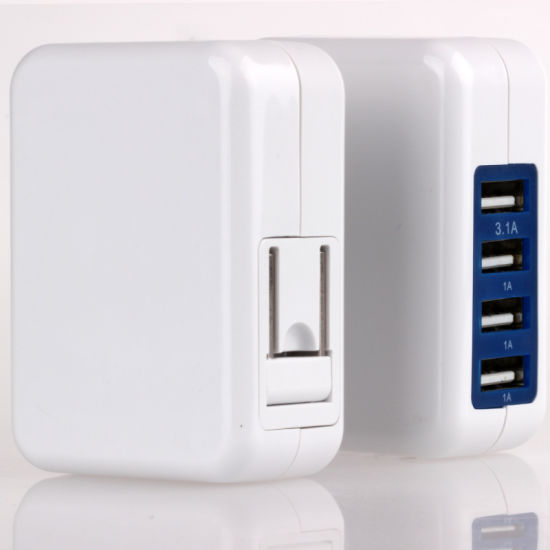 4 USB Charger for Mobile Phone (WIX-B018)