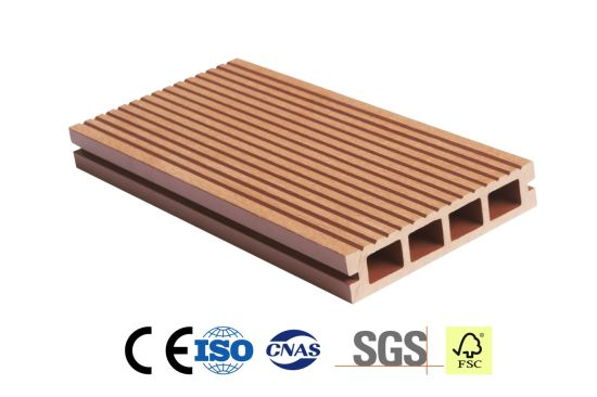 Balcony Patio Swimming Pool Wood Plastic Composite Decking WPC Flooring