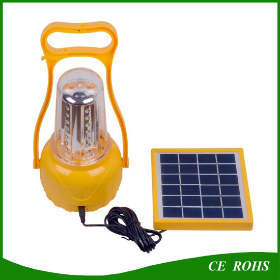 LED Camping Solar Lantern Hiking LED Emergency Solar Lamp Portable Rechargeable Solar Camping Light pictures & photos