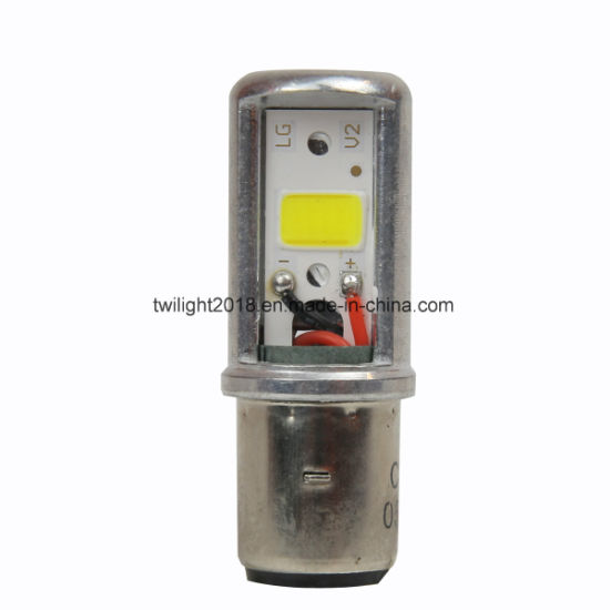 Ba20d-2COB LED Head Light Bulb for Automotive and Motorcycle