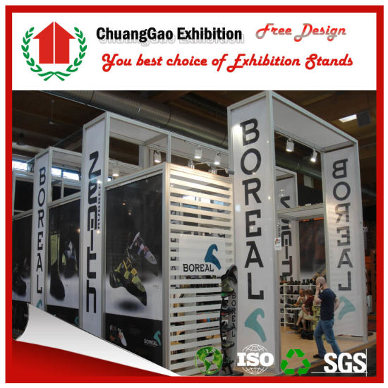 Trade Stands For : China 3m*6m fabric system exhibition stand for trade show china