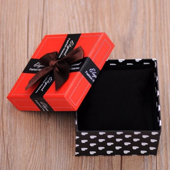 China Manila Gift Box Mini Jewelry Box Packaging Box Watch Box