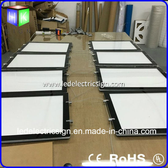 LED Panel for Real Estate Window Ceiling Crystal LED Light Box pictures & photos